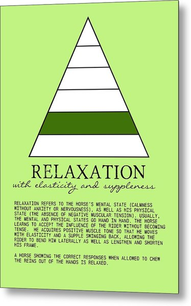 Relaxation Defined Metal Print by JAMART Photography