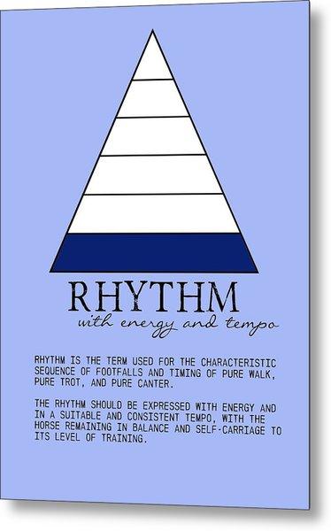 Rhythm Defined Metal Print by JAMART Photography
