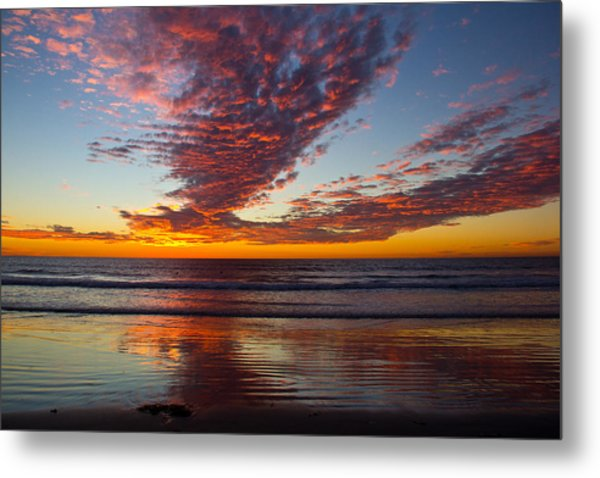 Del Mar Sunset 14 Metal Print