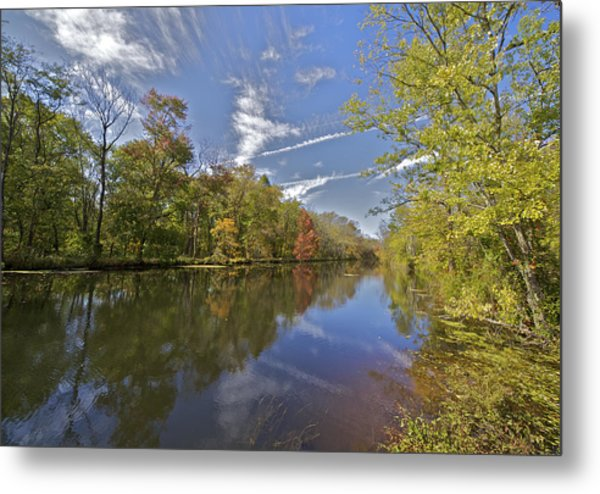 Delaware And Raritan Canal Metal Print