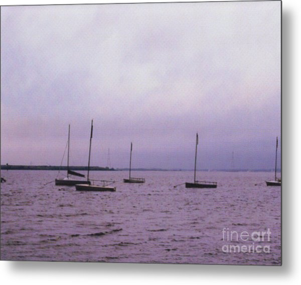 Delaware Harbor Metal Print