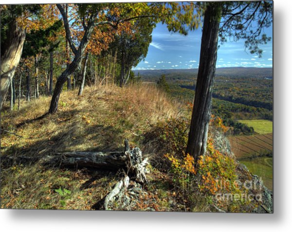 Delaware Water Gap View Metal Print