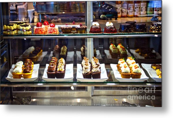 Delectable Desserts Metal Print