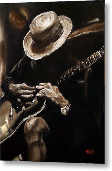 Delta Blues Metal Print
