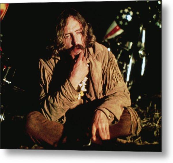 Dennis Hopper In Easy Rider  Metal Print