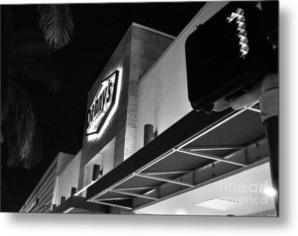 Denny's Store Front Metal Print by Andres LaBrada
