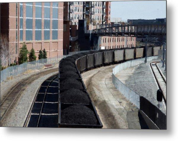 Denver Rail Yard Metal Print