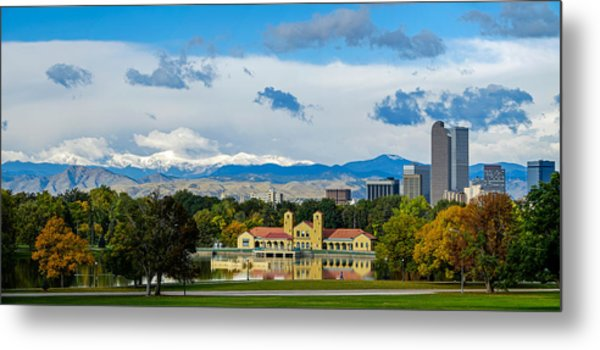 Denver's City Park Metal Print