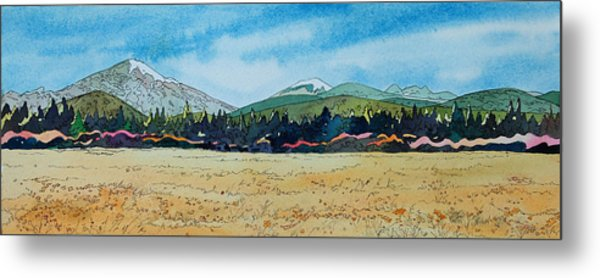 Deschutes River View Metal Print