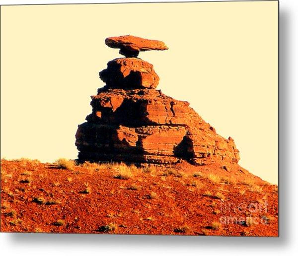 Desert Balance Act Metal Print by John Potts