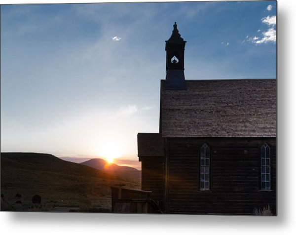 Desert Church  Metal Print