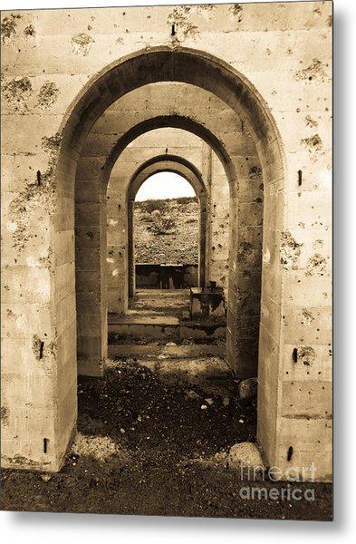 Desert Doorways Metal Print by Dan Julien