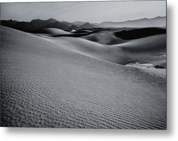 Desert Forms Metal Print
