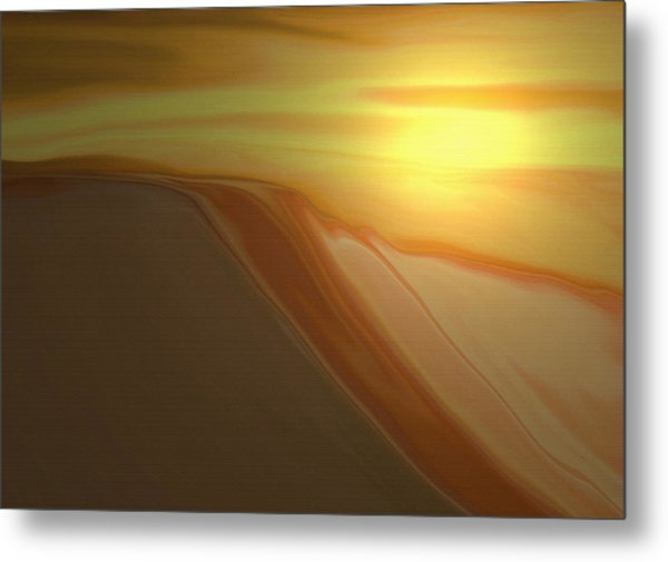 Desert Heat 3 Metal Print