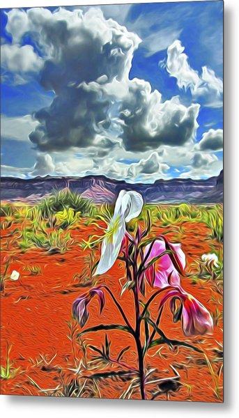 Desert Primrose 3 Metal Print