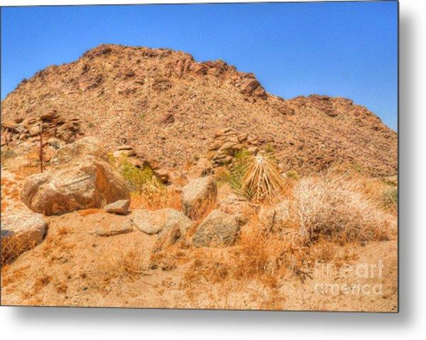 Desert Rocks Metal Print by Deborah Smolinske