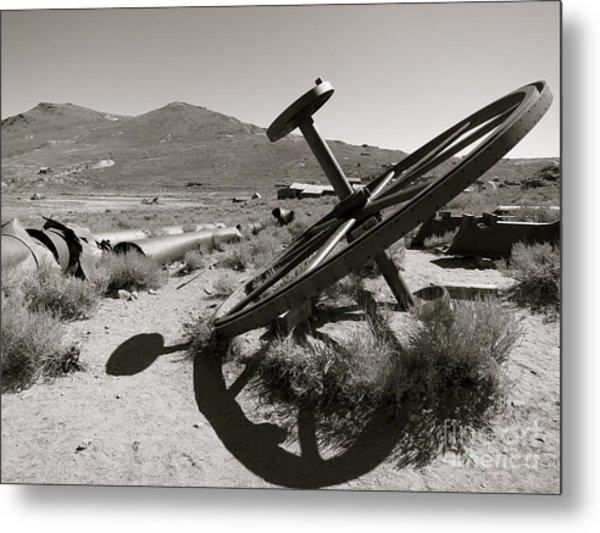 Desert Shadow Metal Print