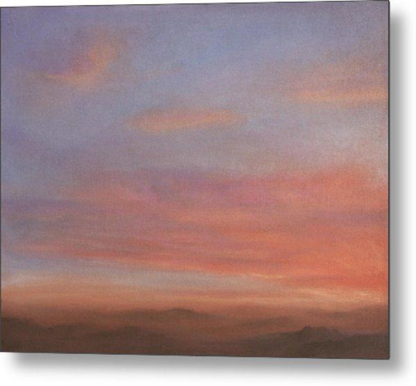 Desert Sky A Metal Print