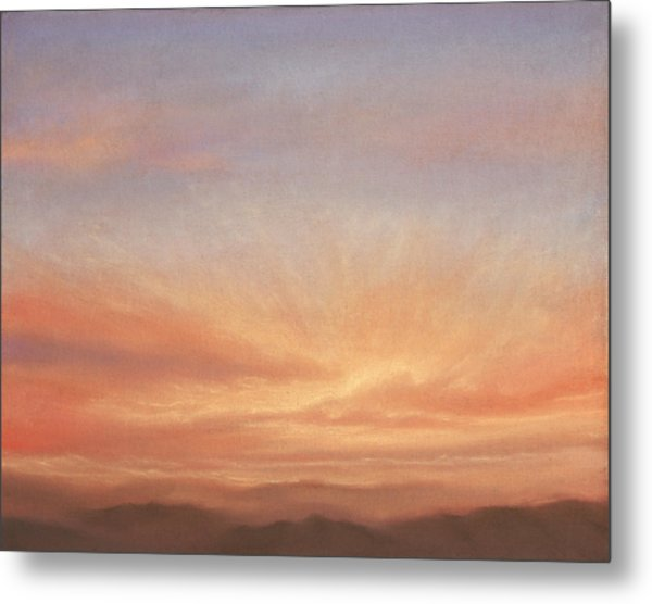 Desert Sky B Metal Print