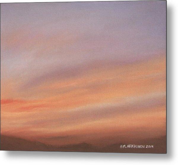 Desert Sky C Metal Print