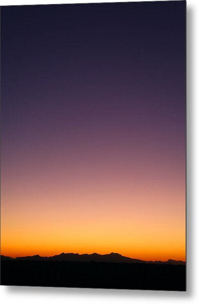 Desert Twilight Metal Print
