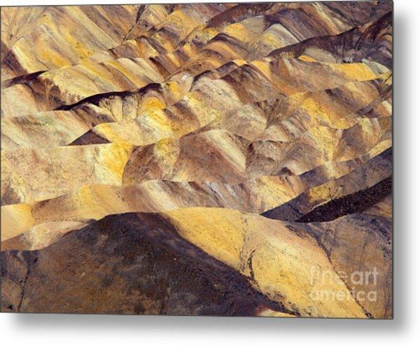 Desert Undulations Metal Print