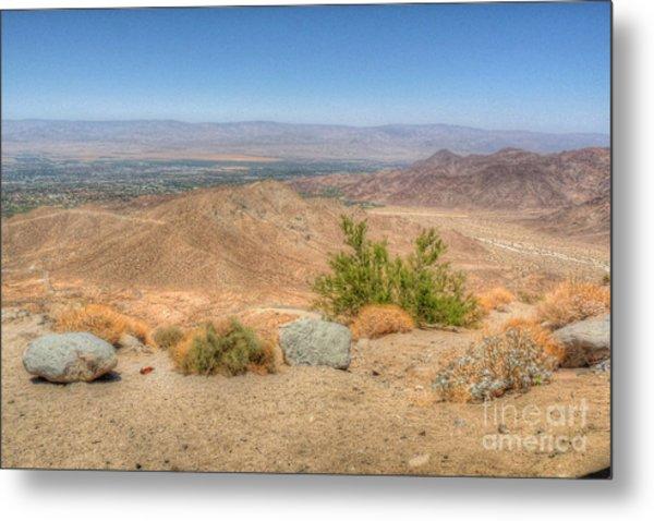 Desert View Metal Print by Deborah Smolinske