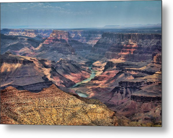 Metal Print featuring the photograph Desert View by Jemmy Archer