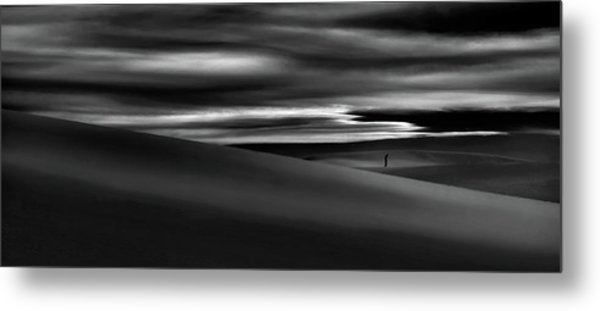 Deserts Are The Soul Of The World ... Metal Print