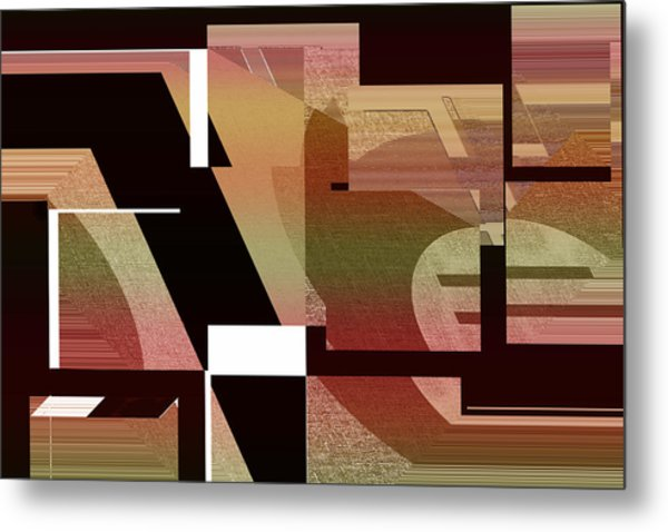 Design Spin 75 Metal Print by Joe Connors