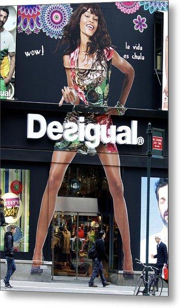 Desigual Storefront Metal Print