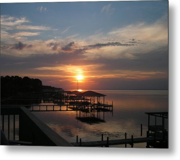 Destin Sunset Metal Print