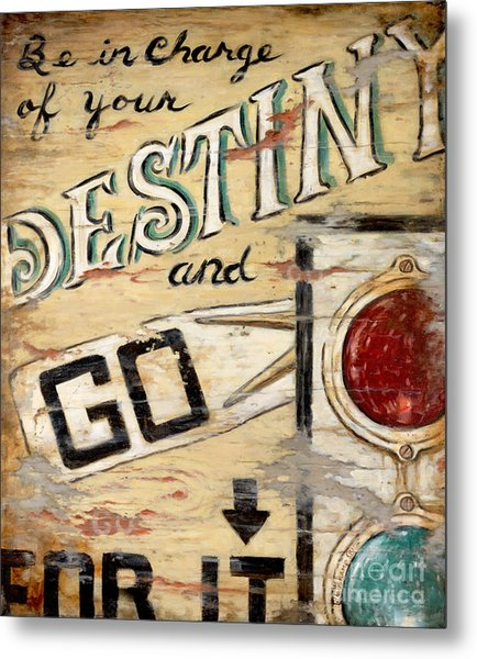 Destiny Metal Print by Janet  Kruskamp