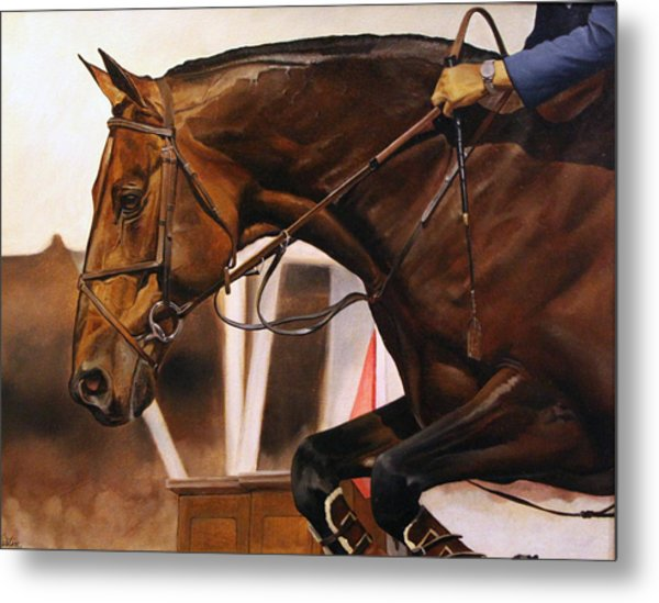 Details Of A Win Metal Print