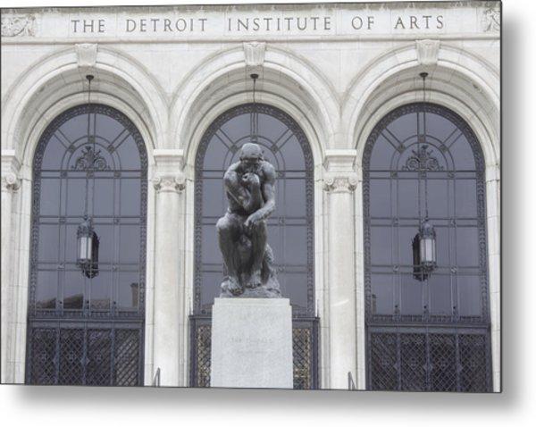 Detroit Institute Of Art Metal Print