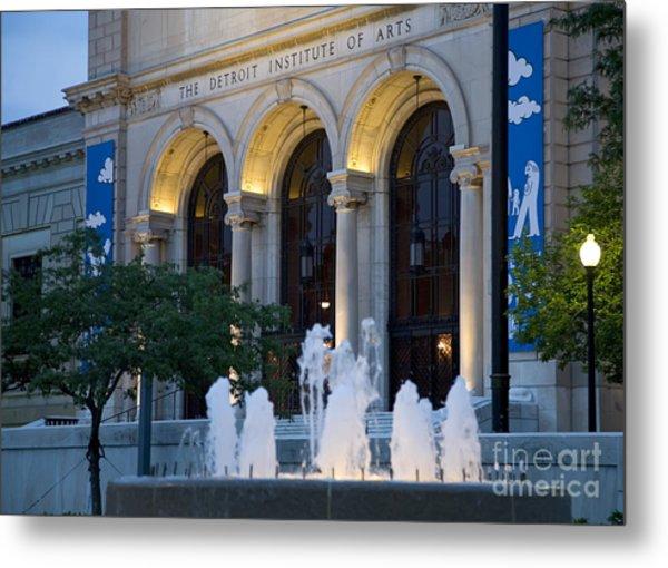 Detroit Institute Of Arts Metal Print