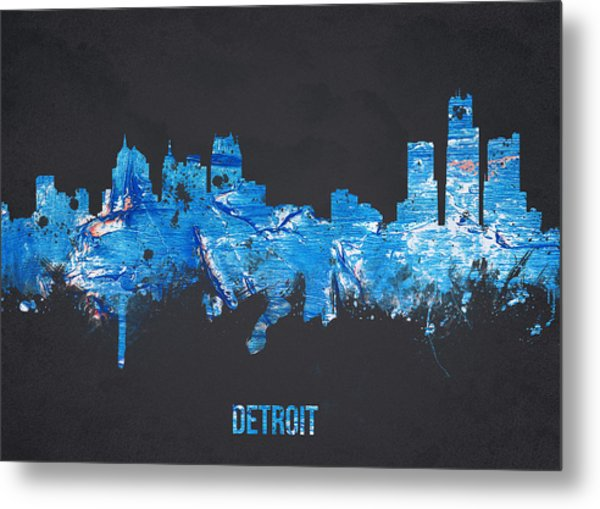 Detroit Michigan Usa Metal Print