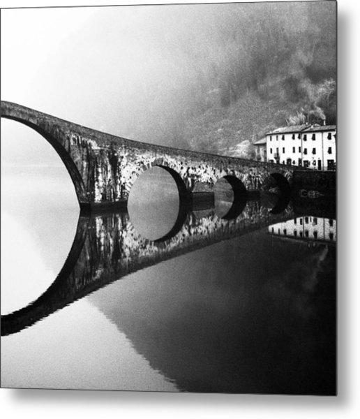 Devil's Bridge Metal Print by Franco Maffei