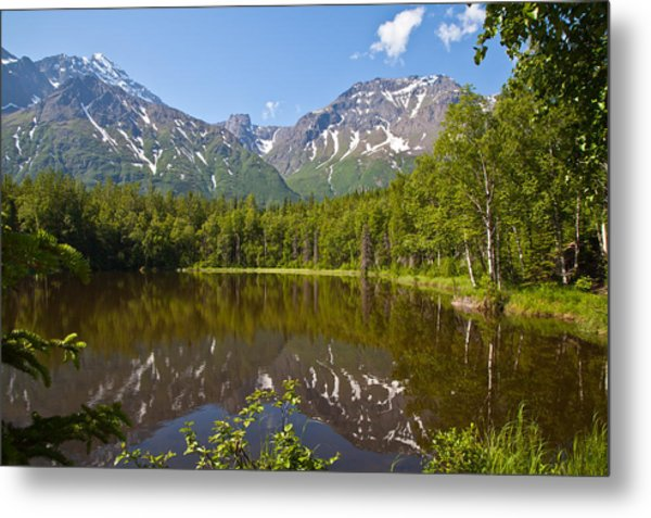 Dew Lake  Metal Print