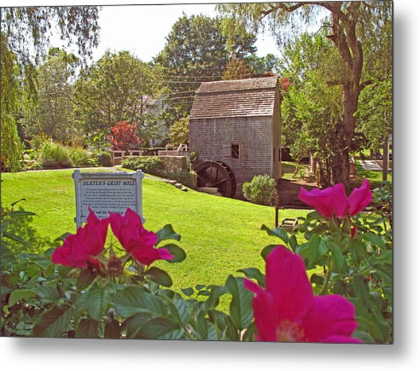 Dexters Grist Mill Two Metal Print