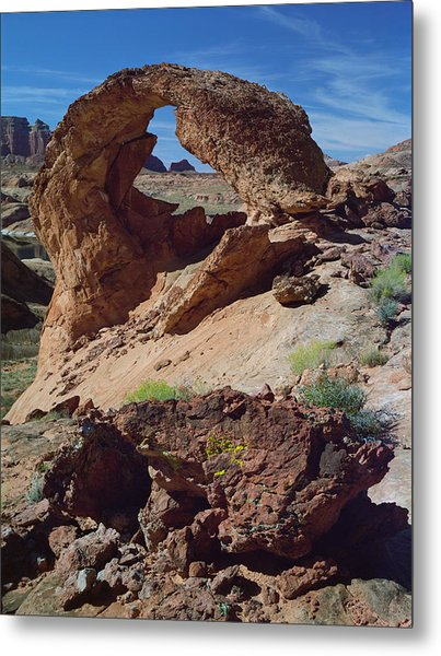 Diagenetic Arch Metal Print