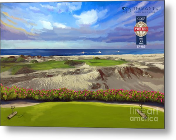 Diamante Dunes Cabo 16th Metal Print