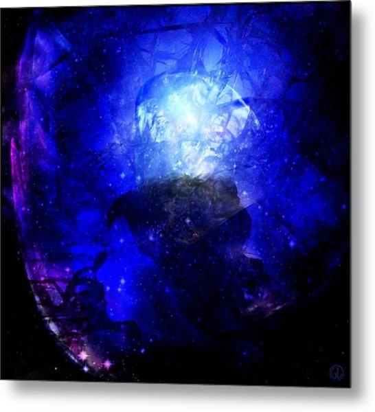 Diamond Queen Of The Night Metal Print by Gun Legler