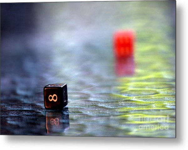 Dice Metal Print by Arie Arik Chen