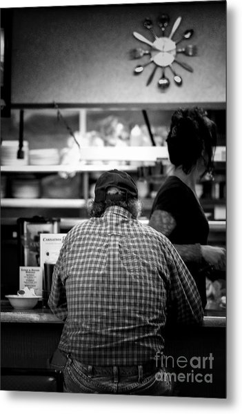 Diner Regular Metal Print