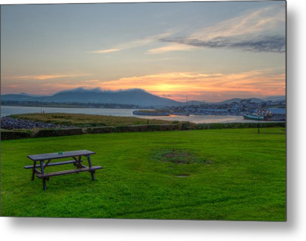 Dingle Harbor Sunset Metal Print