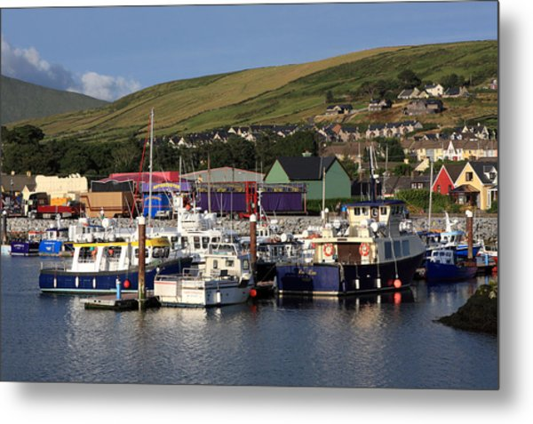 Dingle Harbour County Kerry Ireland Metal Print