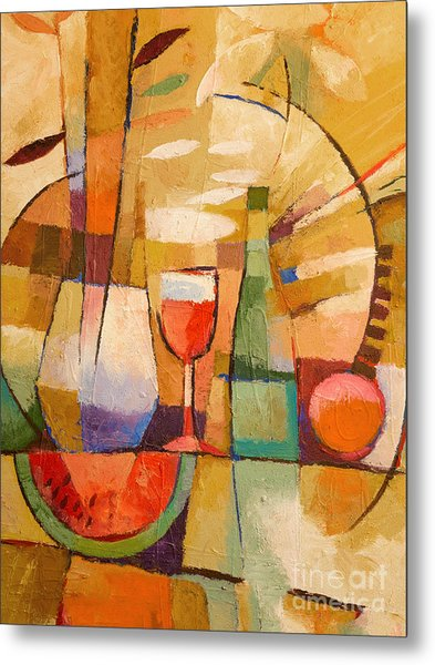 Dining Table Metal Print