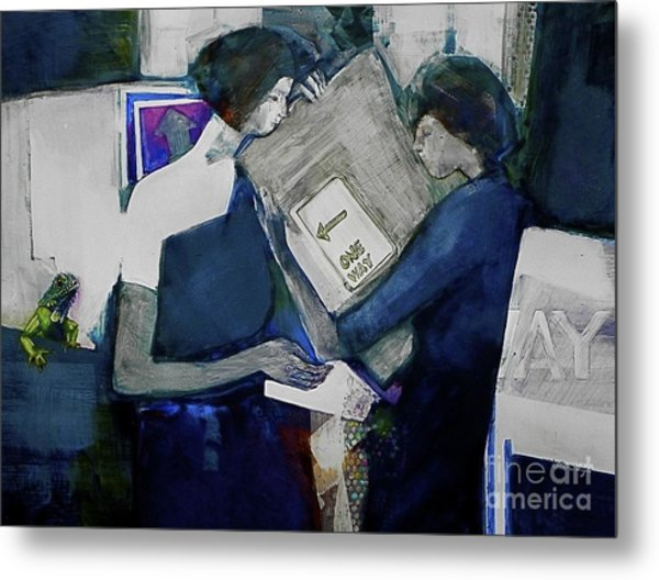 Directions Metal Print by Helen Hayes