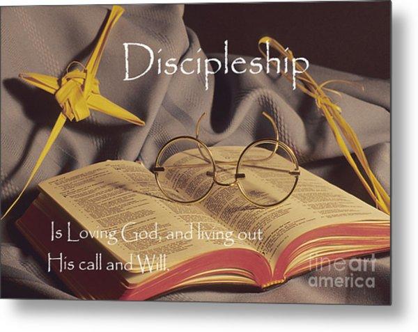 Discipleship Metal Print